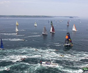 The Artemis Transat, starting on 11 May 2008 from Plymouth-UK to Boston-USA. Single-handed sailing Transatlantic race (2800NM).