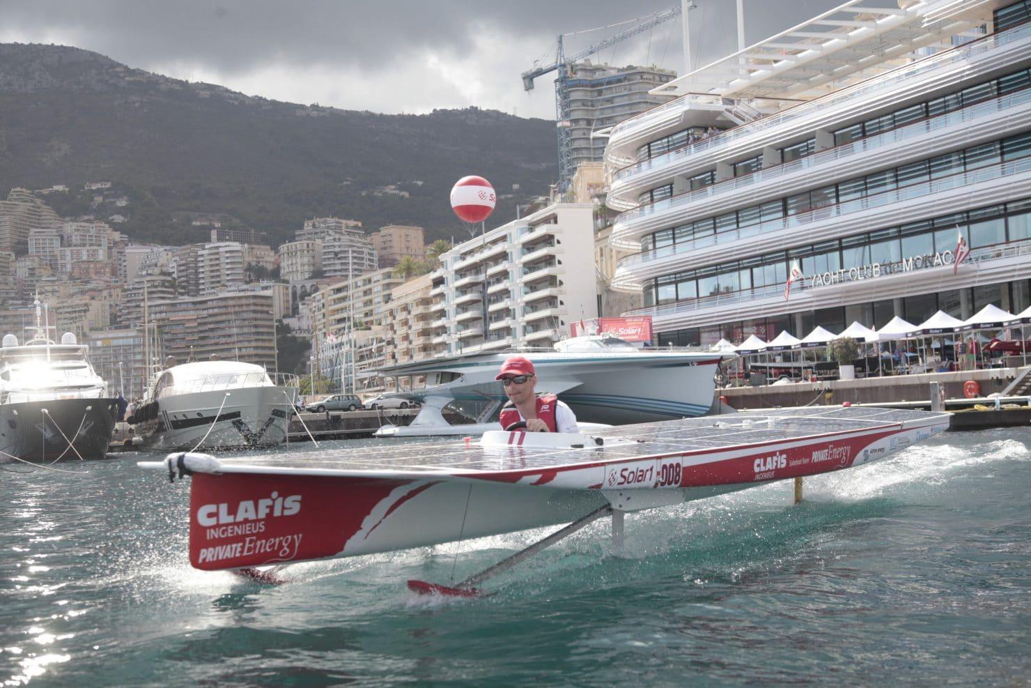 Monaco solar boat challenge 2017 monaco mise sur les - Salon du yacht monaco ...