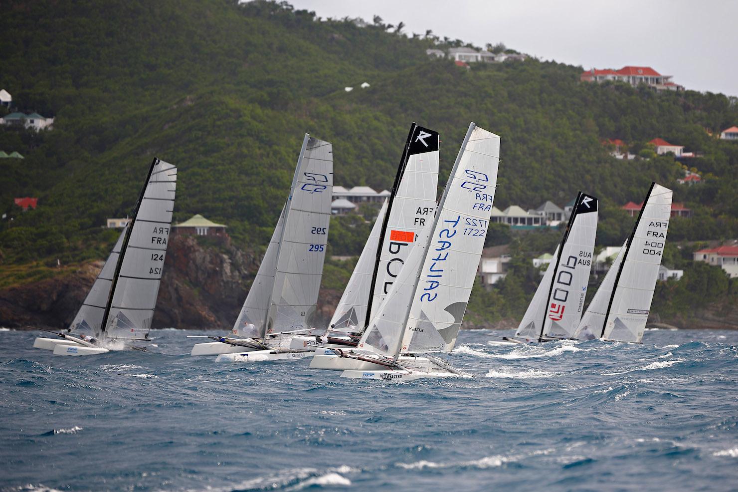 Catamaran de Sport F18 St Barth Cata Cup 2014 Pascal Alemany