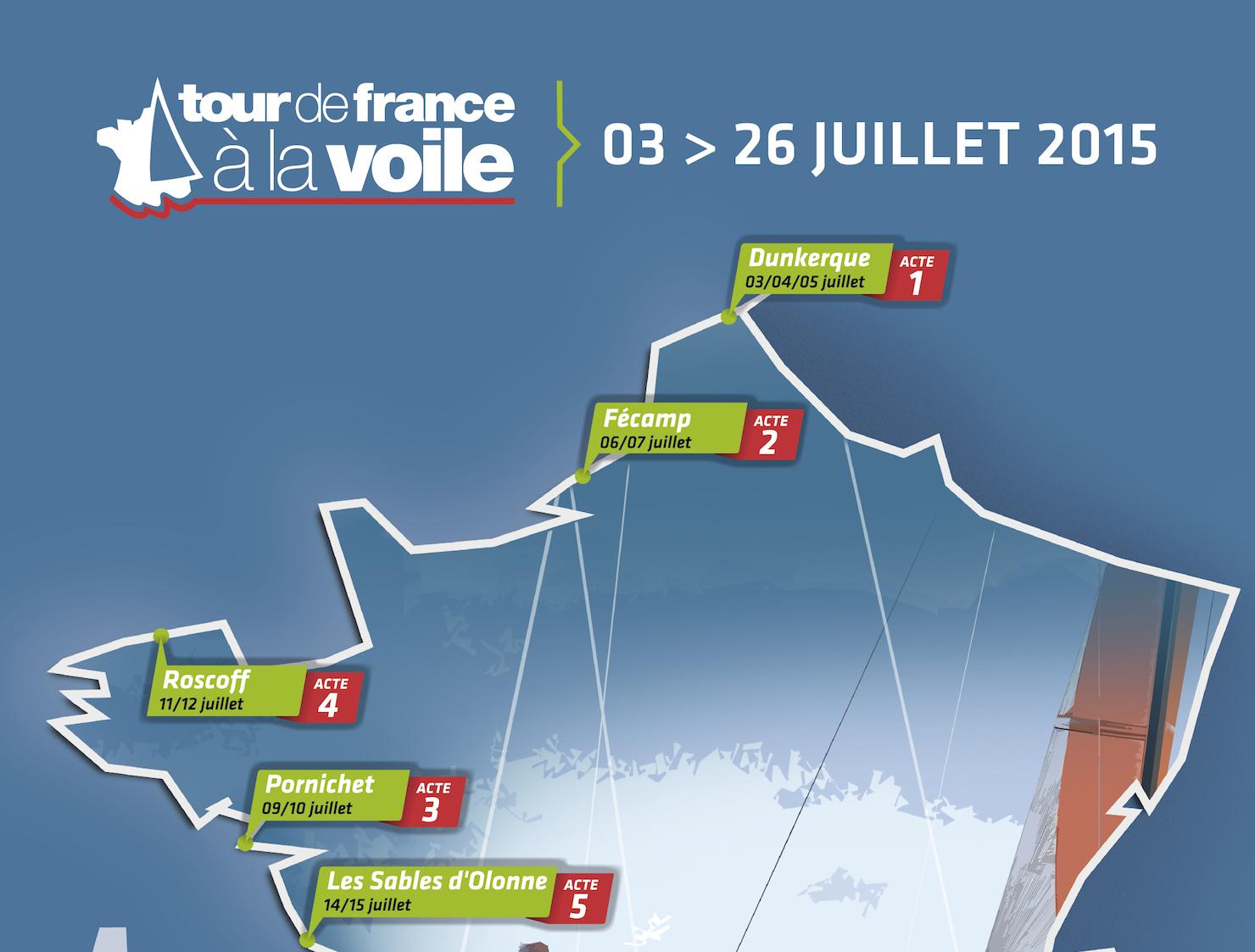 Diam24 Tour De France 224 La Voile 2015adonnante Com