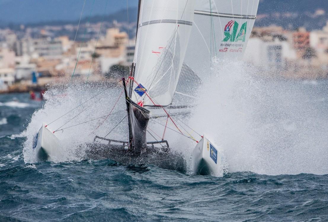 46 Trofeo S.A.R. Princesa Sofia, 46th Princesa Sofia Trophy, Jesus Renedo, Nacra 17, Nacra 17 PUR PUR-026 25 Enrique FIGUEROA Franchesca VALD…S, olympic sailing, sailing