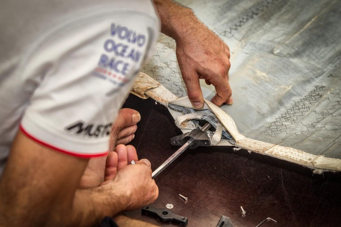 2014-15, Boatyard, Brazil, Dongfeng Race Team, Itajai, Village, Volvo Ocean Race, maintenance