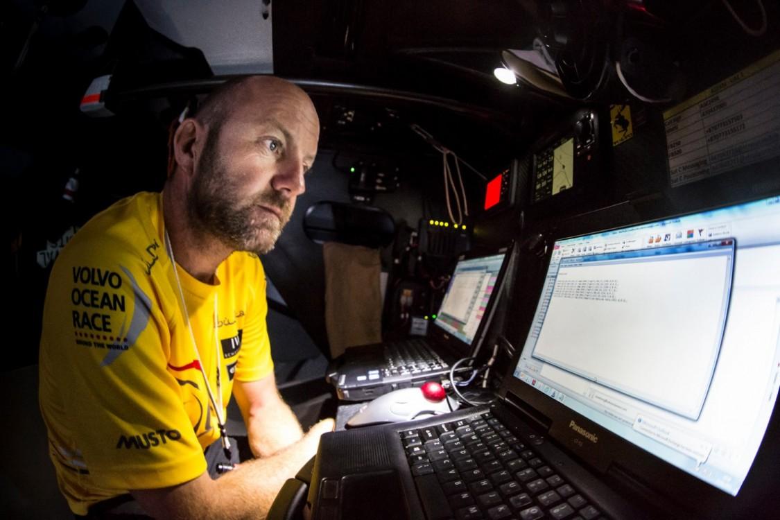 2014-15, Abu Dhabi Ocean Racing, Leg6, OBR, VOR, Volvo Ocean Race, onboard, Skipper, Ian Walker, navegation, life on board