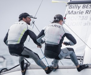 46 Trofeo S.A.R. Princesa Sofia, 46th Princesa Sofia Trophy, Jesus Renedo, Nacra 17, Nacra 17 FRA FRA-1 1 Billy BESSON Marie RIOU, olympic sailing, sailing