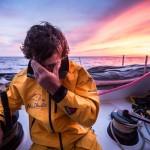 2014-15, Abu Dhabi Ocean Racing, Leg6, OBR, VOR, Volvo Ocean Race, onboard, Roberto Bermudez de Castro, Chuny, sunset, musto
