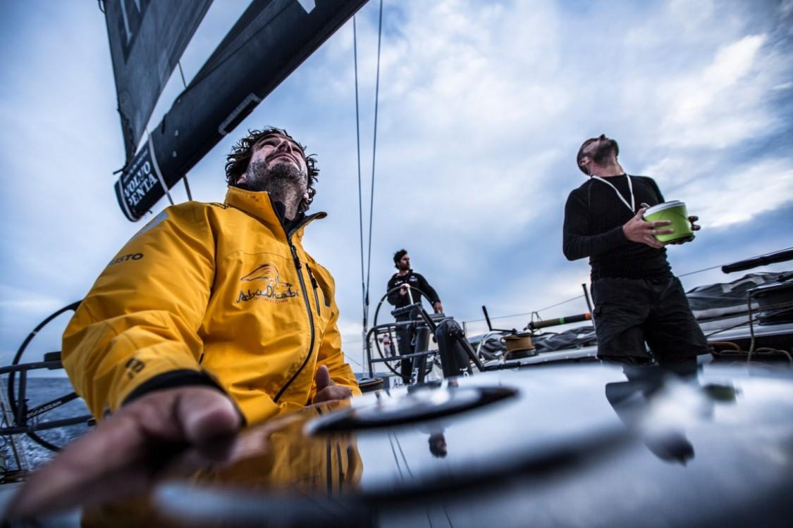 2014-15, Abu Dhabi Ocean Racing, Leg6, OBR, VOR, Volvo Ocean Race, onboard, Roberto Bermudez de Castro, Chuny, Ian Walker, food, trim, Volvo Penta