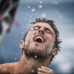 2014-15, Leg6, OBR, ONBOARD, TEAM ALVIMEDICA, VOR, Volvo Ocean Race, Nick Dana, rain, shower, life on board