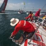 Volvo Ocean Race, 2014-15, VOR, Newport, MAPFRE, Start, Day0, Skipper, Iker Martinez