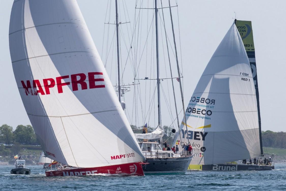 2014-15, Volvo Ocean Race, VOR, MAPFRE, Leg7, Newport, Start, Team Brunel