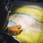 2014-15, Leg7, Onboard, VOR, Volvo Ocean Race, Team Alvimedica, Will Oxley, down below, charts, navigation