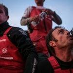 2014-15, Dongfeng Race Team, Leg8, OBR, VOR, Volvo Ocean Race, Yann Riou, onboard, Kevin Escoffier, Eric Peron, musto