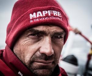 2014 - 15, Leg9, MAPFRE, OBR, VOR, Volvo Ocean Race, onboard, Xabi Fernandez