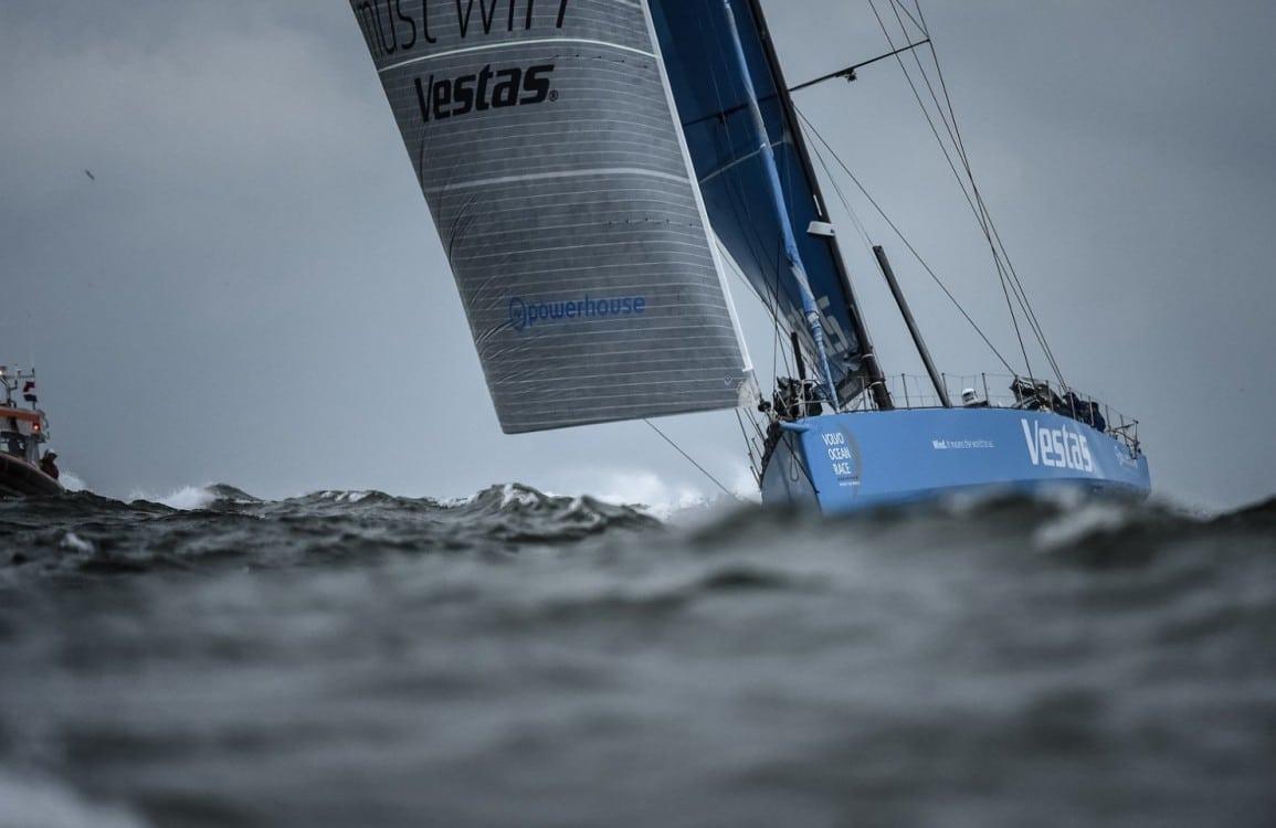 2014-15, VOR, Volvo Ocean Race, Team Alvimedica, Crowd, night, Team Vestas Wind