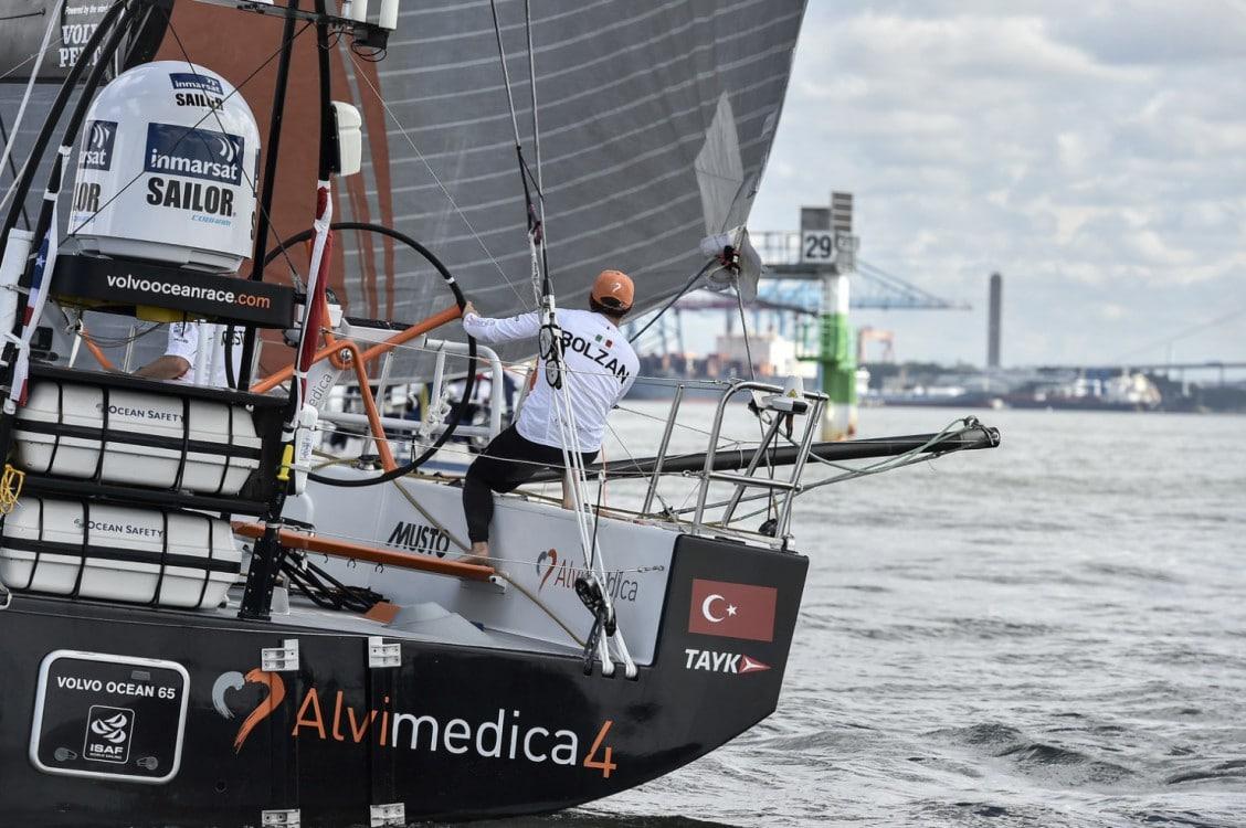 2014-15, VOR, Volvo Ocean Race, Gothenburg, Leg9, Arrivals, Team Alvimedica, Alberto Bolzan