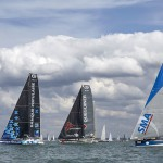 08-2015, OUTSIDE, COWES, UK, IMOCA, MONO, FASTNET RACE, START, DEPART, OCEAN MASTER CHAMPIONSHIP