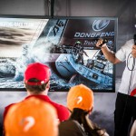Volvo Ocean Race, Hospitality, Guests, Auckland, VOR, 2014-15, VIP, Sailors Terrace, Knut Frostad