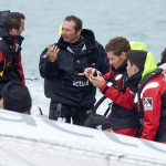12-2015, ACTUAL, FRANCE, Julien CANAL, LA TRINTE SUR MER, LE MANS PASSION SHARE, OUTSIDE, Paul-Loup CHATIN, Romain DUMAS, TJV2015, TRIMARAN, ULTIM, YVES LE BLEVEC