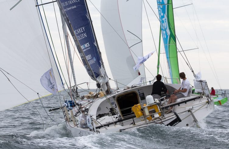 2016, DEPART, class 40, double, ncr, normandy channel race 2016, start