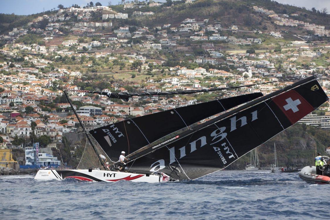 Extreme Sailing Series 2016 Alinghi Dans Un Incroyable