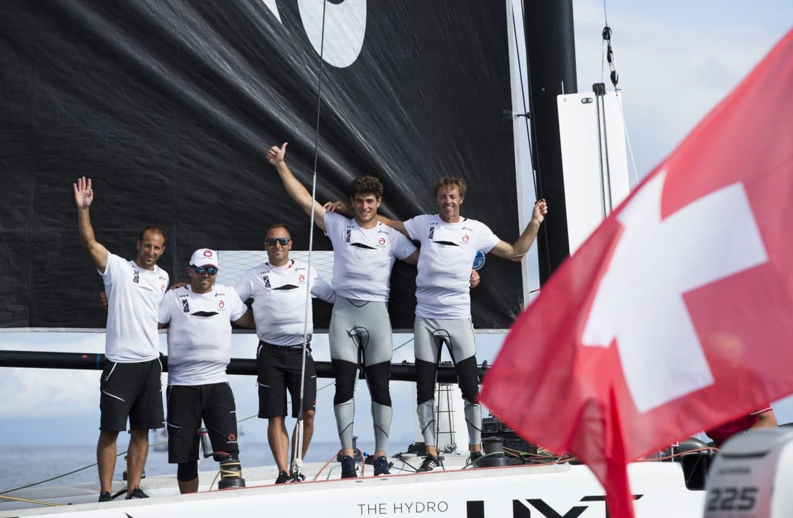 The Extreme Sailing Series 2016, Multihull, Foiling, Catamaran, GC32, Sailing, Racing, Day4