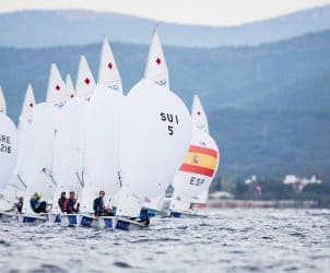 2017 World Cup Series Hyères, 470 Women, Classes, Fleet, Olympic Sailing, Pedro Martinez, Sailing Energy, World Cup Series Hyères 2017, World Sailing