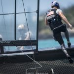 2017, 35th America's Cup Bermuda 2017, AC35, Bermuda, ORACLE TEAM USA, OTUSA, Sailing, Qualifiers, Day 1, Race, RD1, Tom Slingby, Helmsman