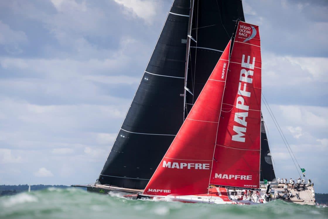 2017-18, Leg Zero, MAPFRE, Pre-race, Rolex Fastnet Race, Start