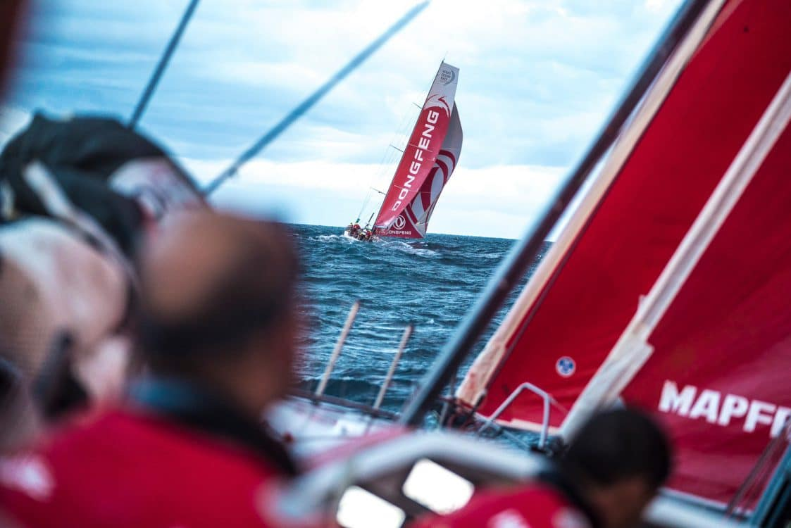 2017-18, Dongfeng, Kind of picture, Leg Zero, MAPFRE, On board, On-board, Pre-race, Rolex Fastnet Race, boat to boat