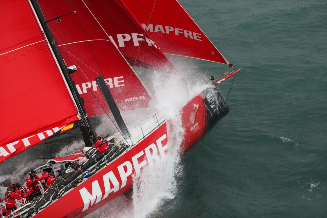 2017-18, Aerial, Around the Island Race, Kind of picture, Leg Zero, Live, MAPFRE, Media, Pre-race