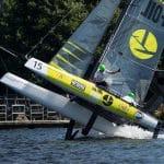 Cardiff, Culture Foil, Day4, ESS, Extreme Sailing Series, Flying Phantom, Vincent Curutchet