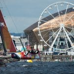 Cardiff, Day2, ESS, Extreme Sailing Series, GC32, Team Extreme Wales, Vincent Curutchet
