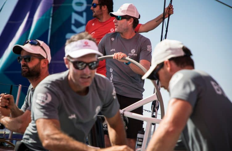 Skipper,Spain,Commercial,Helm,Wheel,Alicante,Guests,Charles Caudrelier,Practice Race,Dongfeng,french,2017-18,on board,on-board,port, host city,Zhik