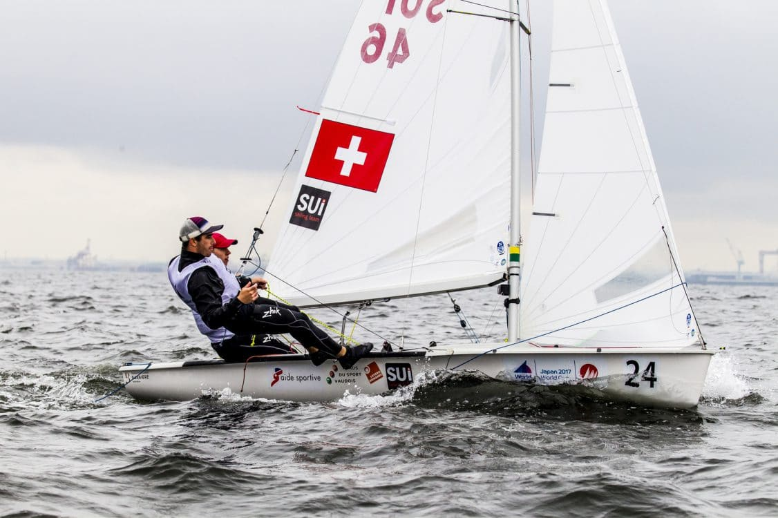 2018 World Cup Series, 470M, GAMAGORI, Japan, Olympic Sailing, SUI 4624 Kilian Wagen (M)SUIWK2Gregoire SiegwartSUIGS3, Sailing Energy, WC Series Gamagori, World Sailing