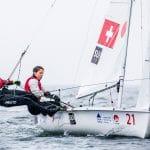 2018 World Cup Series, 470W, GAMAGORI, Japan, Olympic Sailing, SUI 521 Linda Fahrni (W)SUIFL2Maja SiegenthalerSUISM14, Sailing Energy, WC Series Gamagori, World Sailing