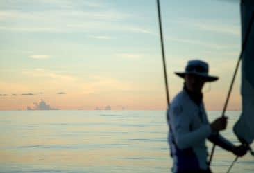 Leg 4,Action,Doldrums,strategy,Sailing