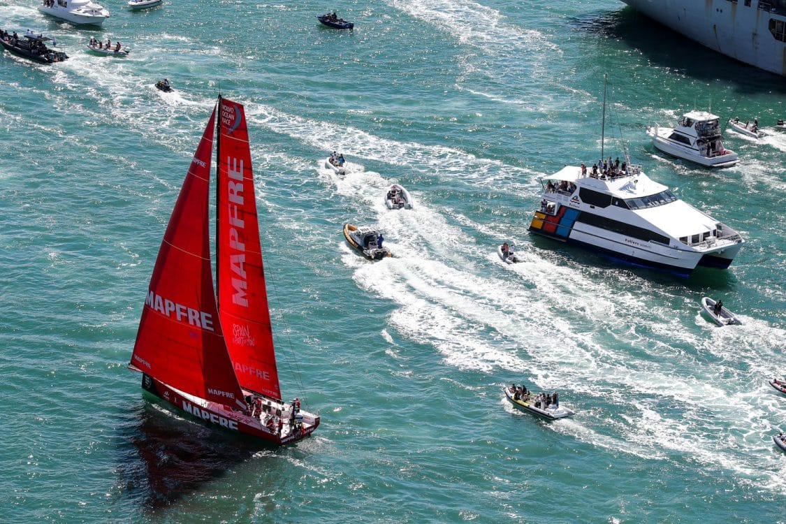Aerial,Helicopter,Spectator boat,Commercial,RIB,MAPFRE,2017-18,port, host city,Kind of picture,The New Zealand Herald In-Port Race