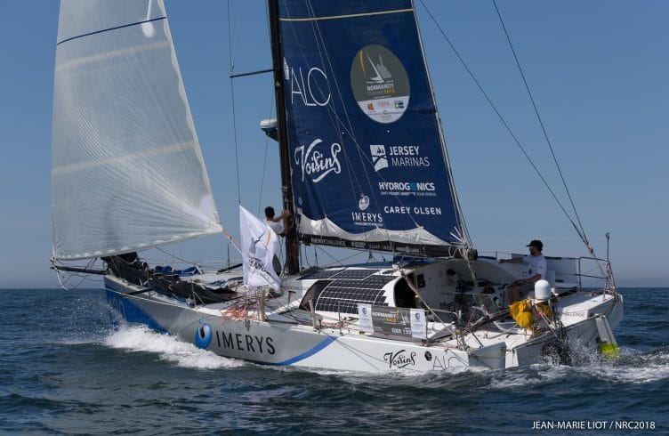 2018, CLASS 40, DEPART, DOUBLE, DOUBLE HANDED, NCR 2018, NORMANDY CHANNEL RACE
